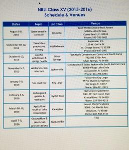 NRLI calendar 2015/2016