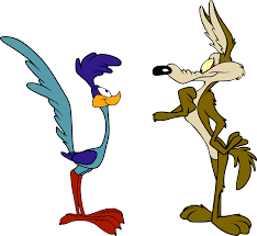 """Coyote and Road Runner"" was a cartoon my generation grew up with but he was not always so smart!"