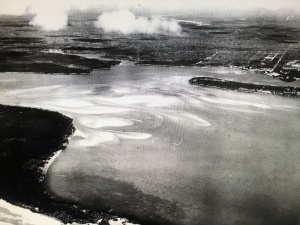 May 1925 aerial for the Sailfish Club by bob Higgins shared by historian Sandra Henderson Thurlow.