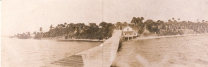 Sewall's Point Post Office ca. 1892. Photo courtesy of Historic Society of Martin County and Sandra Henderson Thurlow.