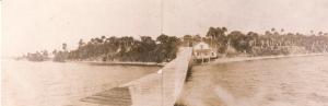 Sewall's Point Post Office ca. 1892. Photo courtesy of Historic Society of Martin County and Sandra Henderson Thurlow.