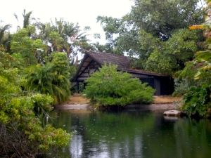 Langford hut as seen i 2008.