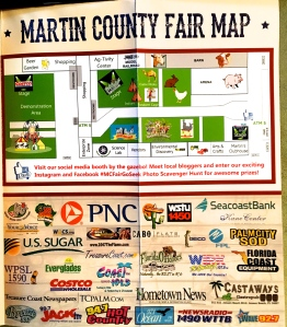 Martin County Fair brochure 2016