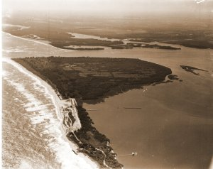 Aerial of Seminole Shores. Thurlow Archives.