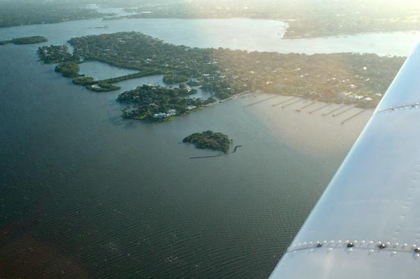 Aerial Sewall's Point's east side. JTL 2013.