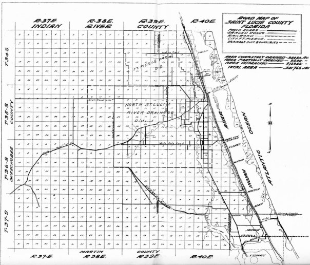 Map for drainage around north fork of SLR