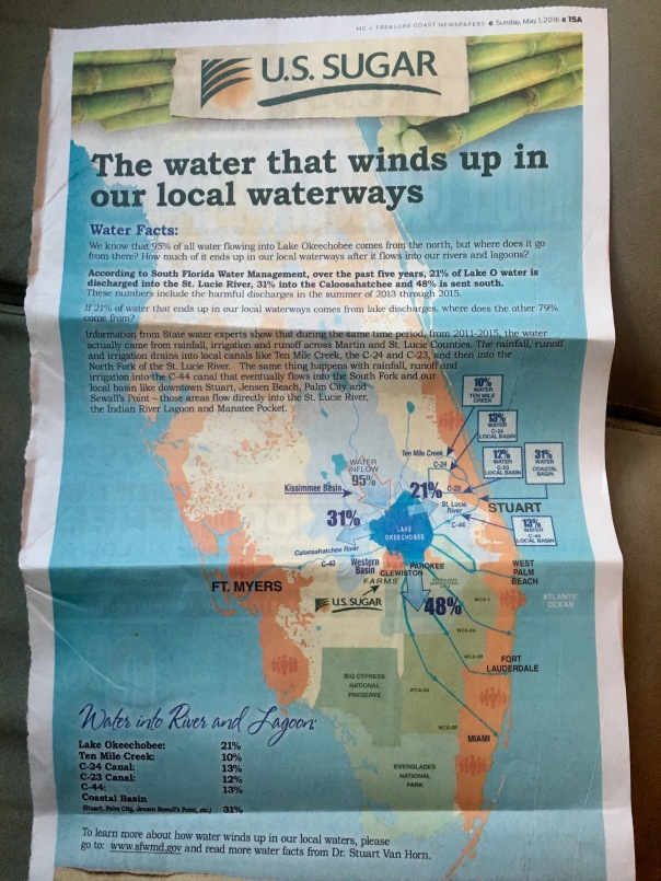 Full page ad 5-1-16 US Sugar, Stuart News.