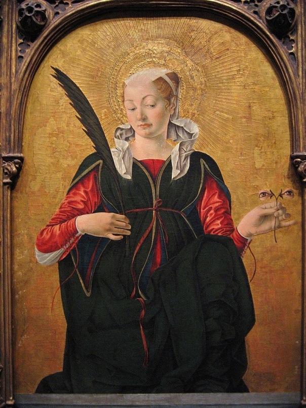 Santa Lucea or Saint Lucy, Francesco del Cossa