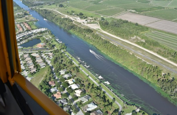 C-44 Canal connecting to St Lucie River