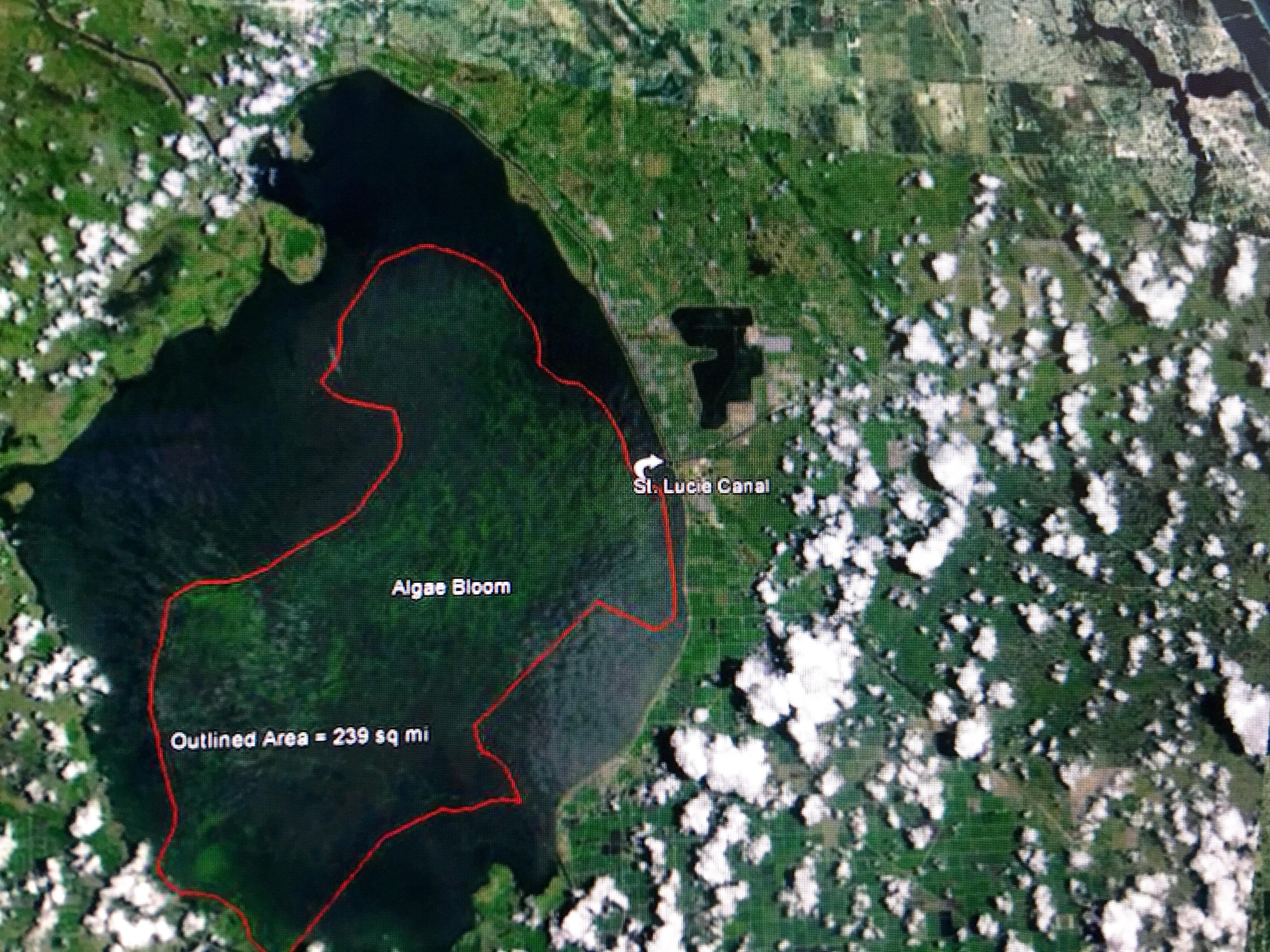 Lake Okeechobee is Definitely Point Source Pollution SLRIRL