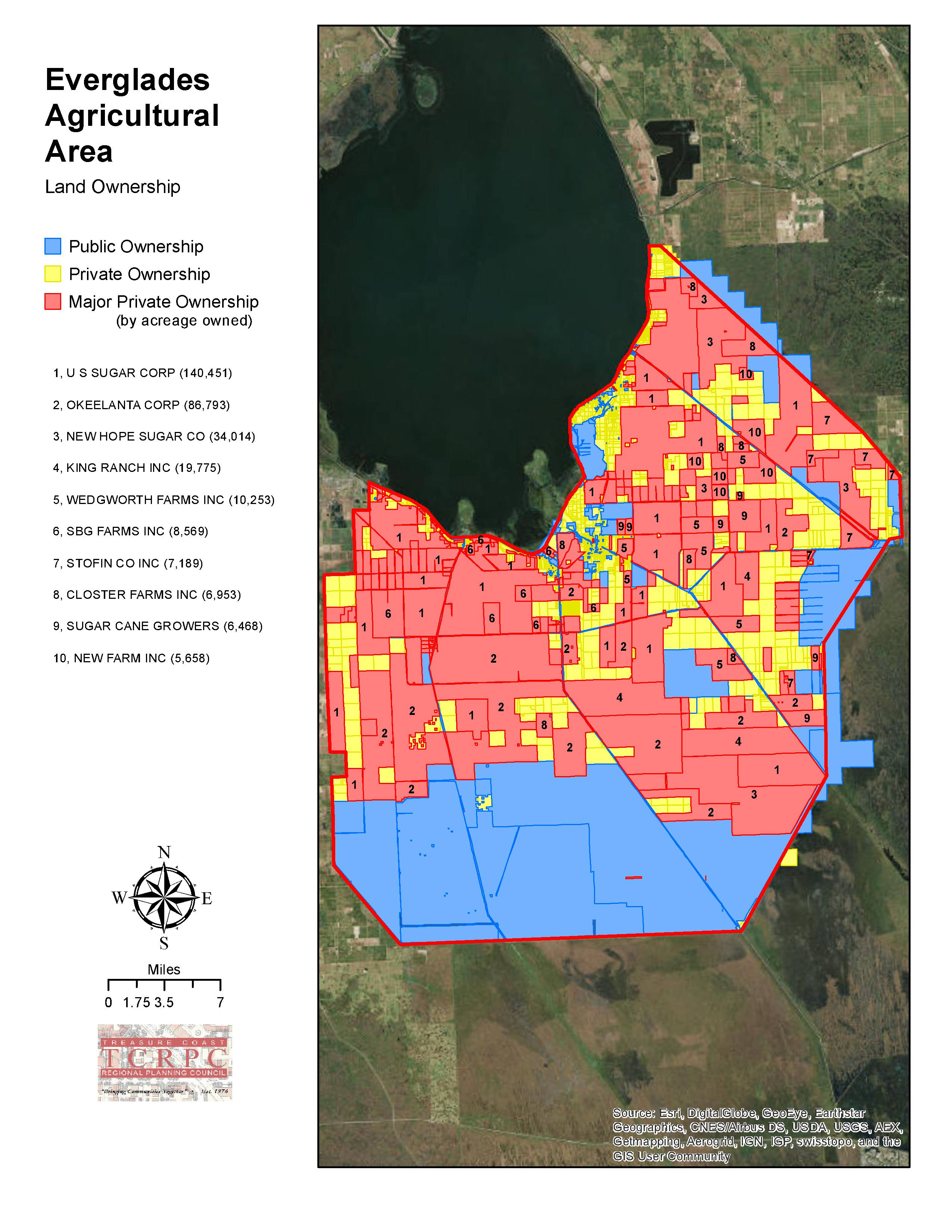 Who owns the land south of Lake Okeechobee Jacqui ThurlowLippisch