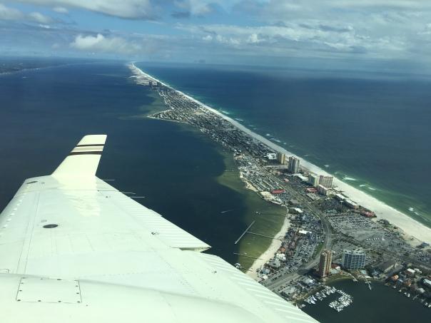 Landing in Pensacola