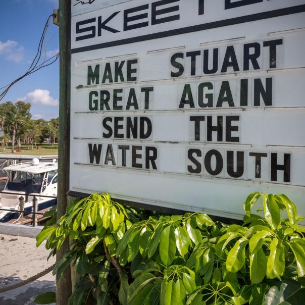 "stuart slime tour send water south 1000 9474 In: John Moran's ""Florida's Summer of Slime: Stuart and Lake Okeechobee"" | Our Santa Fe River, Inc. | Protecting the Santa Fe River in North Florida"