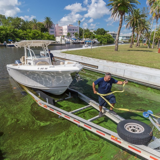"stuart slime tour shepard park boat ramp square 1000 9041 In: John Moran's ""Florida's Summer of Slime: Stuart and Lake Okeechobee"" | Our Santa Fe River, Inc. (OSFR) | Protecting the Santa Fe River in North Florida"