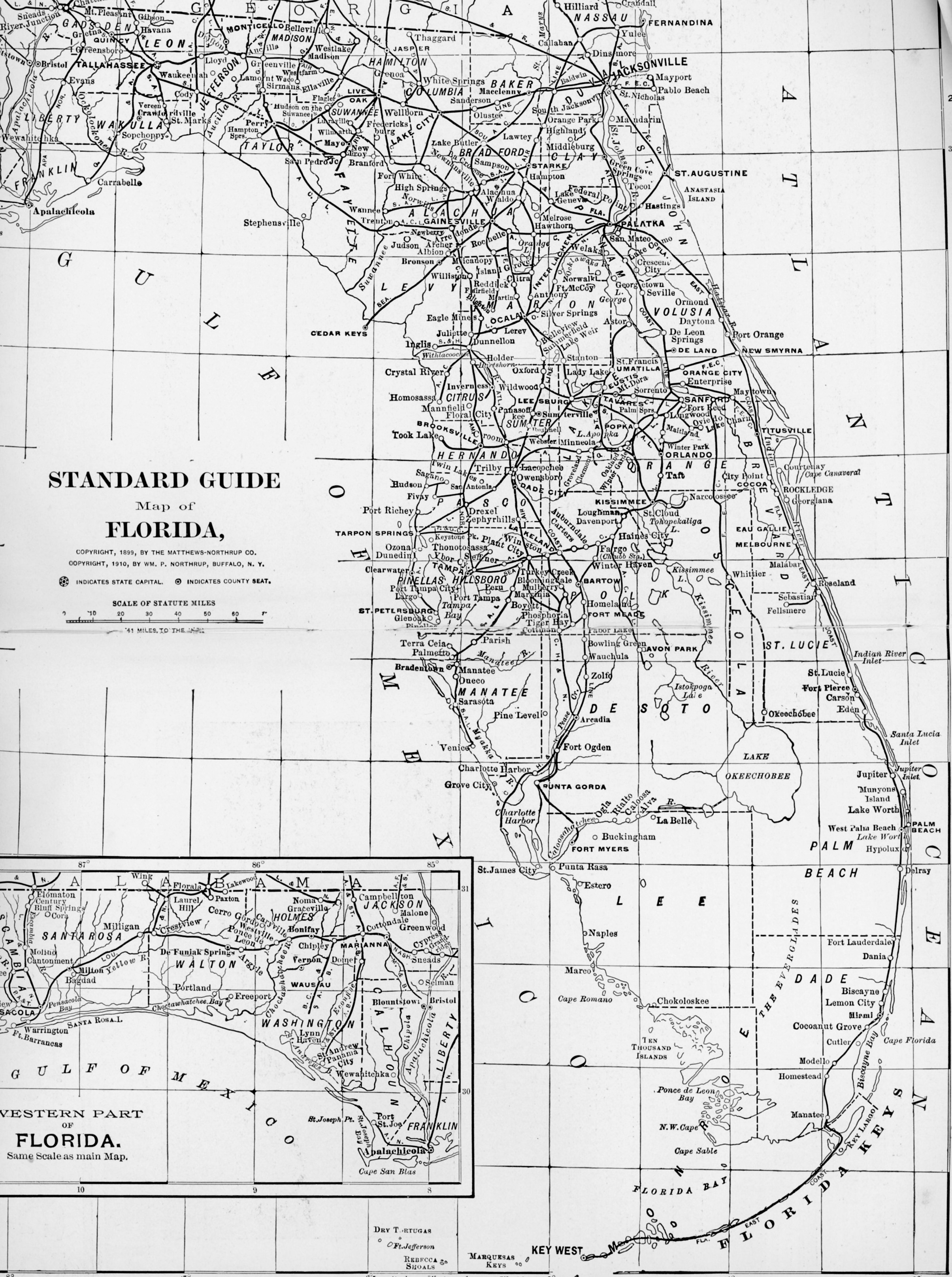studying old maps and new maps Florida | Jacqui Thurlow-Lippisch